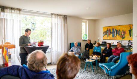 Programma Huiskamerfestival Talent in Huis